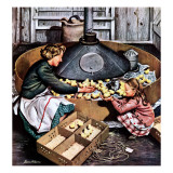 &quot;Chicks in Incubator &quot; March 5  1949