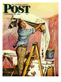 &quot;Renegade Wallpaper &quot; Saturday Evening Post Cover  November 26  1949