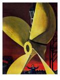 """""""Ships Propeller """" February 26  1944"""