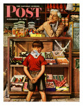 &quot;Penny Candy &quot; Saturday Evening Post Cover  September 23  1944