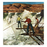 """Salmon Fishing "" July 17  1948"