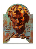"""Re -print of ""Bronze Lincoln"" "" February 1  1976"