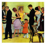 """Hitting the Buffet "" November 11  1961"