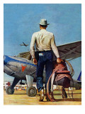 &quot;Flying Cowboy &quot; May 17  1947