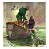 """Fishing with Nets "" May 28  1949"