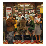 """Lunch Counter "" October 12  1946"