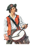 """Re-print of ""Colonial Drummer"" "" July/Aug 1976"