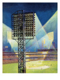 """Baseball Stadium at Night "" June 28  1941"