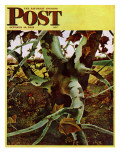 """Sycamore Tree and Hunter "" Saturday Evening Post Cover  October 16  1943"