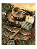&quot;Fishing Still Life &quot; April 15  1944