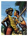 """Island Game "" April 21  1945"