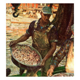 """Shrimpers "" October 25  1947"