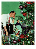"""Trimming the Tree "" December 24  1949"