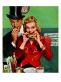 """""""Late Night Snack """" March 22  1941"""