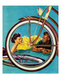 """Bicycle Ride "" August 16  1941"