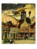 """""""The Silver Dollar """" November 10  1945"""