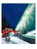 """Highway Snowplow "" January 18  1941"