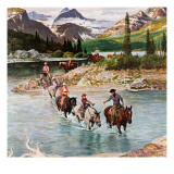 &quot;Horseback Riding in Glacier Park &quot; July 30  1960