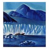 """Navigating Through Icebergs "" July 19  1941"