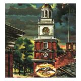 """""""Independence Hall  Philadelphia  Pa """" June 2  1945"""