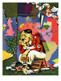 """Hitler as Wallpaperer "" July 31  1943"