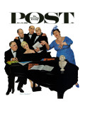 &quot;The Fat Lady Sings &quot; Saturday Evening Post Cover  December 16  1961
