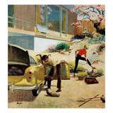 """""""Rock Garden """" April 22  1961"""