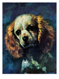 """Cocker Spaniel "" March 1  1975"