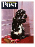 """Bad Dog  Butch "" Saturday Evening Post Cover  September 20  1947"