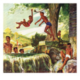 """Swimming Hole "" June 25  1949"