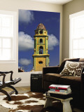 Beautiful Color Steeple in Church  Trinidad  Cuba