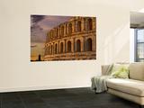 Famous El Jem Roman Amphitheater  El Jem  Tunisia  Africa