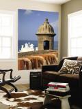 Lookout Tower at Fort San Cristobal  Old San Juan  Puerto Rico  Caribbean