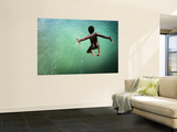 Torres Strait Islander Boy Leaping into the Sea  Seisia  Cape York