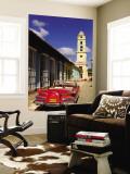 Old Worn 1958 Classic Chevy  Trinidad  Cuba