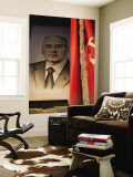 Portrait of Mikhail Gorbachev  Ussr Leader in the 1990S  Estonia