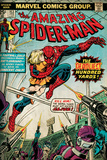 Marvel Comics Retro: The Amazing Spider-Man Comic Book Cover 153 (aged)