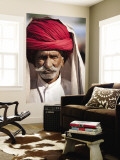 Portrait of Man in Red Turban