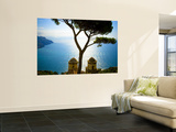View from the 13th Century Villa Rufolo in Ravello  Amalfi Coast