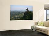 Rocca Montale Castle Built on Titan Mountain of Medieval San Marino