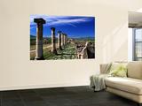 Decomanus Maximus Avenue in Roman City Ruins