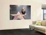 Little Dog Visiting John Travolta's Star on Hollywood Walk of Fame