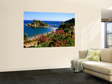 Populated Island Coastline  Isole Bella  Sicily  Italy