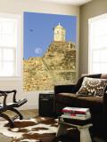 Full Moon Behind San Felipe Castle (Castillo De San Felipe De Barajas)