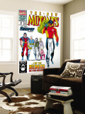 New Mutants 99 Cover: Cable  Sunspot  Warpath  Cannonball  Domino  Boom Boom and New Mutants