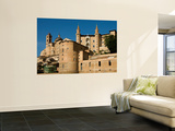 Walled Town of Urbino from Via Raffaello