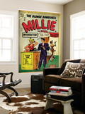 Marvel Comics Retro: Millie the Model Comic Book Cover 53  Fashion Show Information Booth (aged)