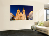 Catholic Cathedral at Dusk