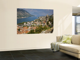 Stari Grad (Old Town)  City and Bay of Kotor from Mt St John