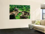 Overhead of Ruins of Daulatabad Fort
